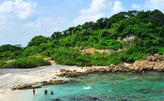 Bezoek het prachtige koraal en de koraalvissen op Pigeon Island National Park op Sri Lanka.
