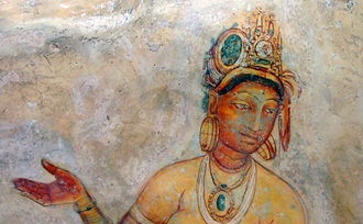 Sigiriya hoort bij de Culturele Driehoek van Sri Lanka