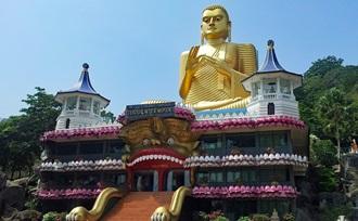 Laat uw reis op maat organiseren naar Dambulla in Sri Lanka