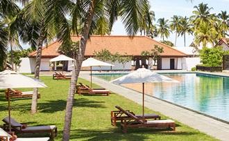 een prive rondreis met gezin met tieners eindigt in Negombo in Sri Lanka